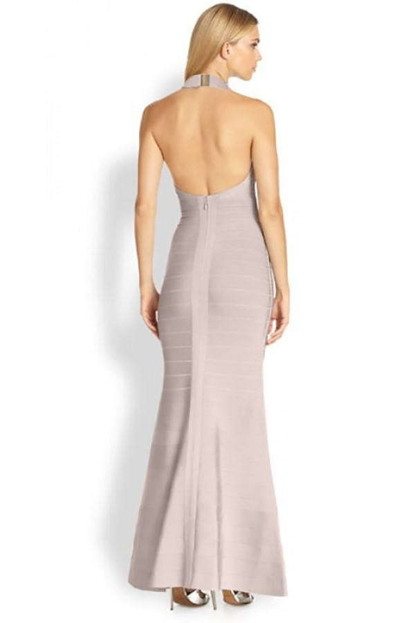 Brands,Dresses,New,Collections - Posh Girl Halter Mermaid Bandage Gown