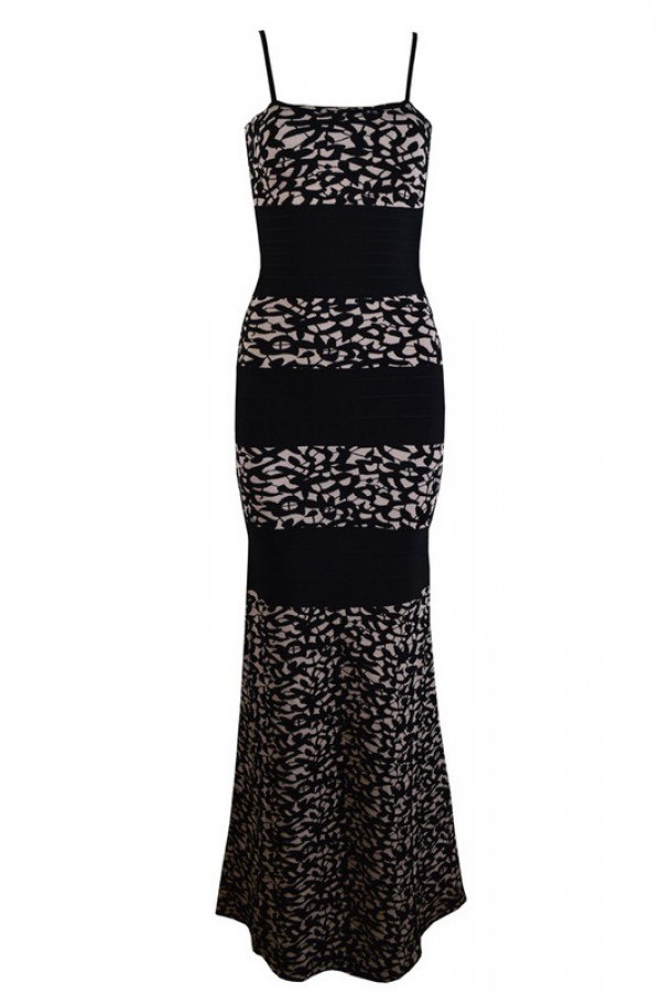 Lace Print Bandage Gown for $2.38 at Posh Girl