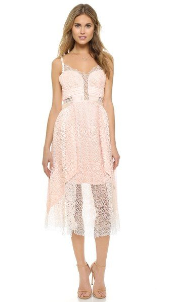 Posh Girl Light Pink Mesh Sweetheart dress-POSH GIRL-Posh Girl