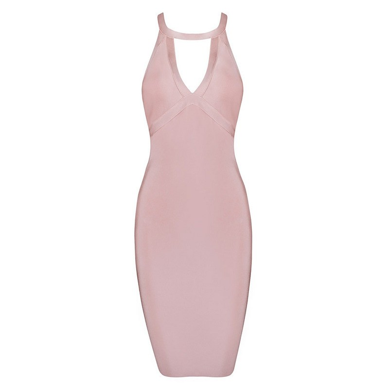 Low Open Back Cutout Bandage Dress for $1.68 at Posh Girl