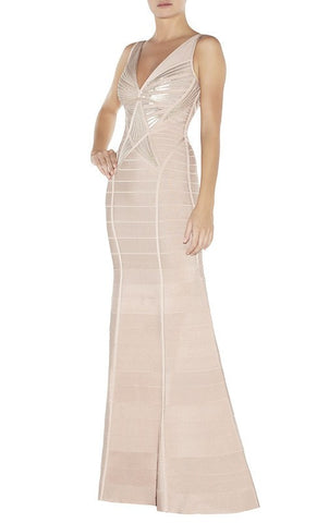 Brands,Dresses,New,Collections - Posh Girl Phoebe Sequins Bandage Gown