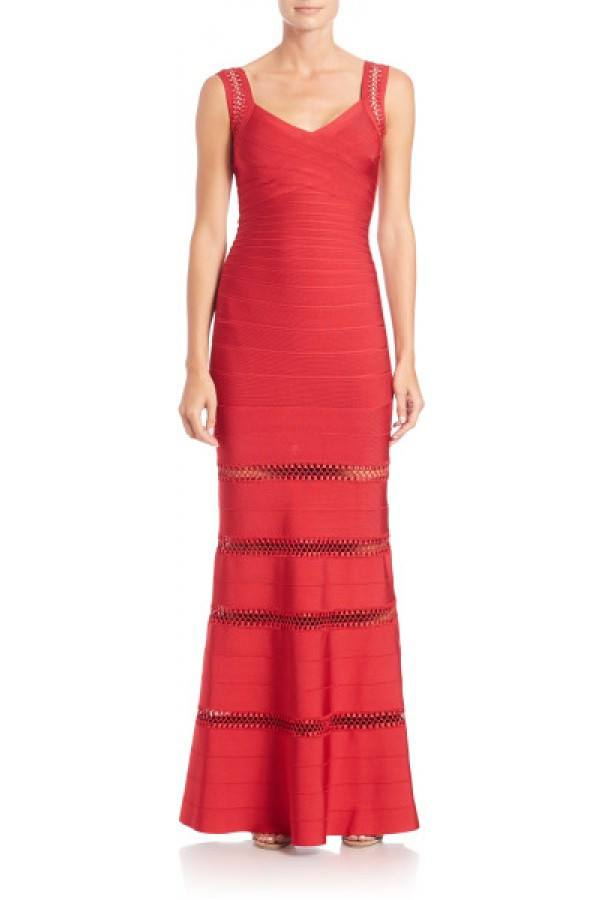Brands,Dresses,New,Collections - Posh Girl Ross Bandage Gown