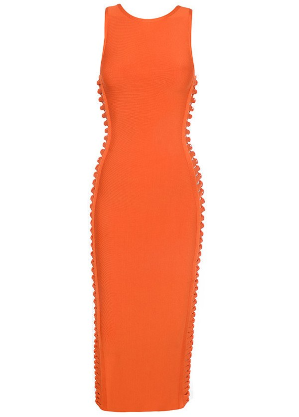 Sideways Bow Cut-Out  Bandage Dress for $1.68 at Posh Girl