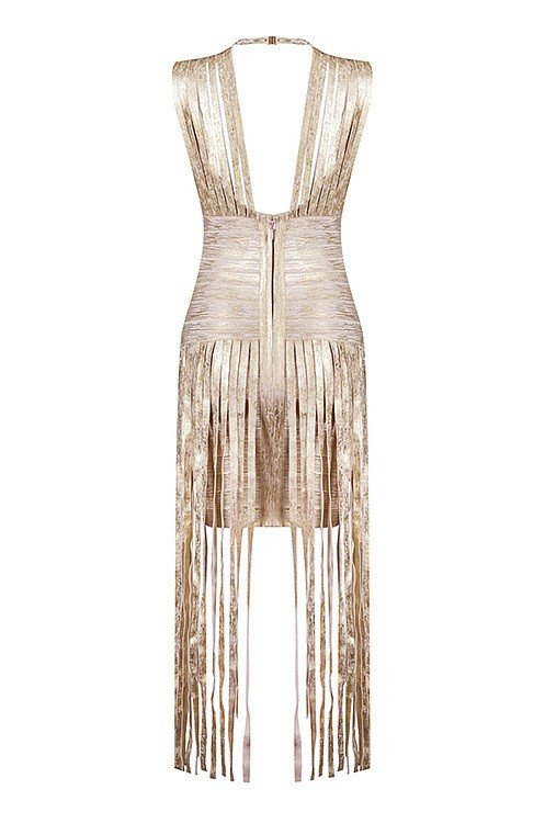 Swing Out Babe Gold Maxi Dress for $2.58 at Posh Girl
