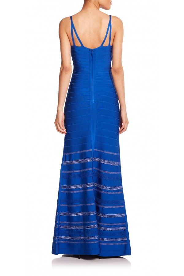 Trista Royal Blue Bandage Gown for $2.48 at Posh Girl