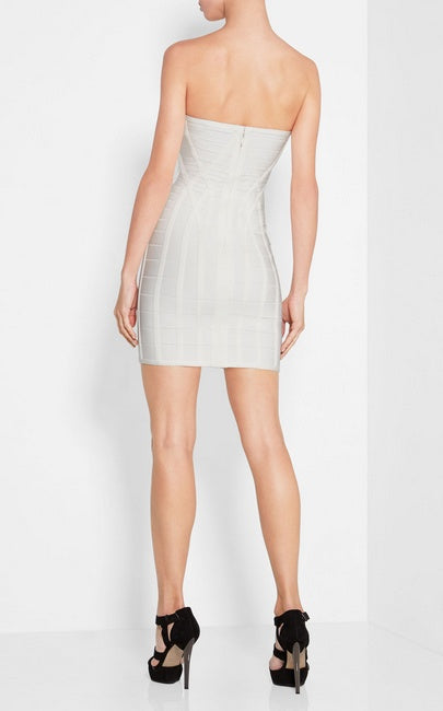 Brands,Dresses,New - Posh Girl Textured Strapless Bandage Dress