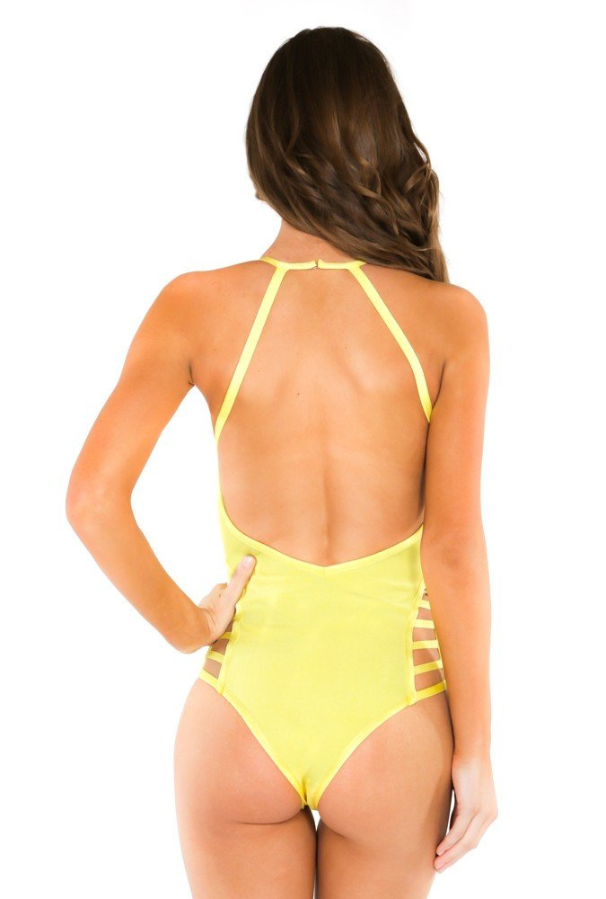 Brands,New,Apparel,Collections - Posh Girl Riley Cut-Out Bandage Swimsuit