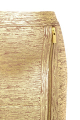 Posh Girl Gold Foil Print Asymmetrical Bandage Skirt for $1.28 at Posh Girl