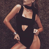 Brands,New,Collections,Apparel - Posh Girl Cut-Out Bandage Bodysuit
