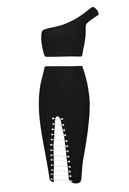 Posh Girl Sexy Pearl Bandage Skirt Set for $1.68 at Posh Girl