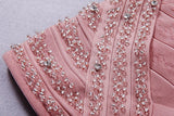 Brands,Sale,Dresses,Collections,Apparel - Posh Girl Pink Beaded Bandage Dress