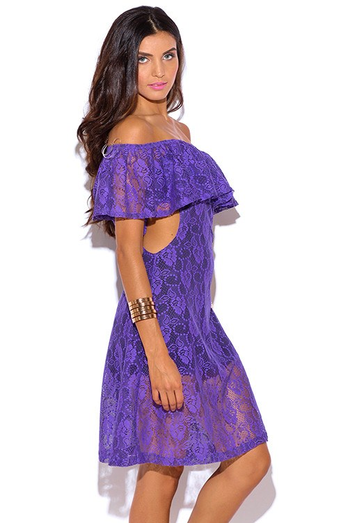 Brands,Sale,Dresses,Collections,Apparel - Posh Girl The Bewitching Babe Lace Mini Dress