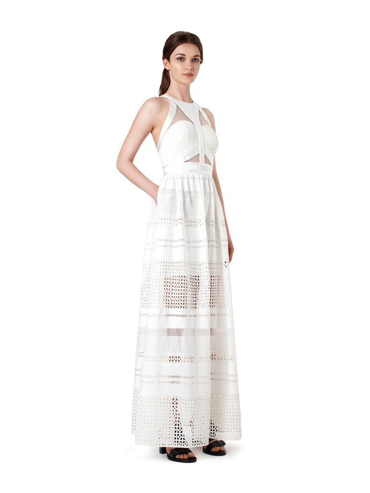Brands,Sale,Dresses,New,Collections,Apparel - Posh Girl Lulu White Lace Maxi Dress