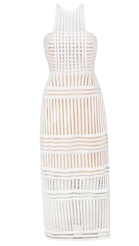 Brands,Sale,Dresses,New,Collections,Apparel - Posh Girl Mesh-Knit Midi Sheath Dress