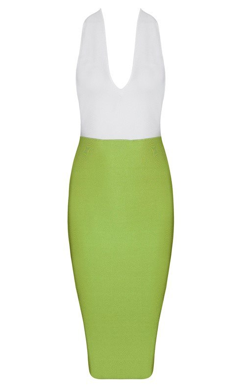 Brands,Sale,Dresses,New,Collections,Apparel - Posh Girl T-Back V-Neck Bandage Dress