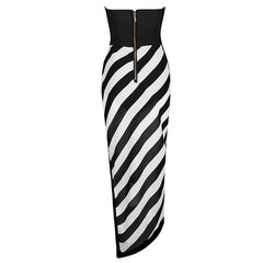Black And White Bandage Maxi Dress for $1.78 at Posh Girl