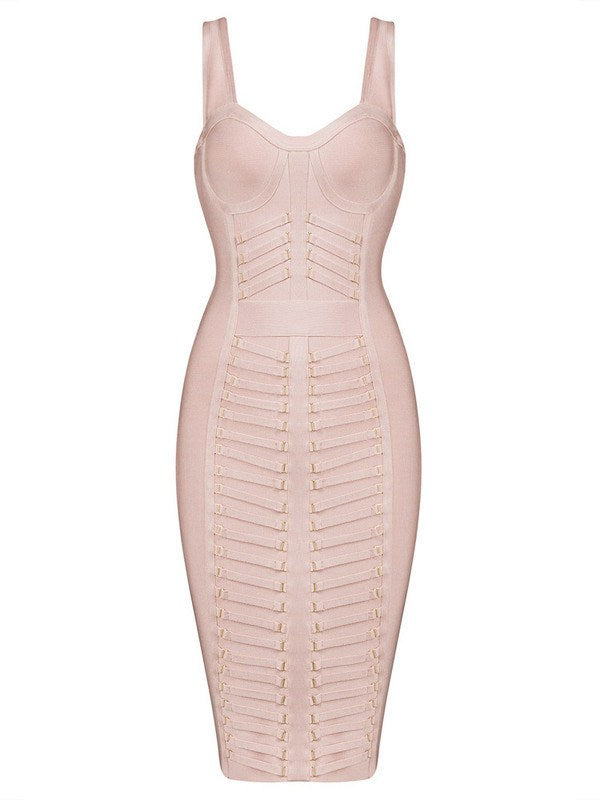Foxy Babe Bandage Dress-POSH GIRL-Posh Girl