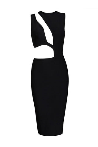 Brands,Sale,Dresses,New,Collections - Posh Girl Hot Sugar Black Bandage Dress