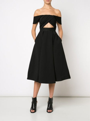 Baily Off Shoulder Cut-Out Dress for $1.88 at Posh Girl