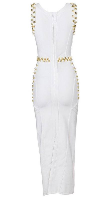 Brands,Sale,Dresses,New,Collections - Posh Girl Rocker Girl Bandage Maxi Dress