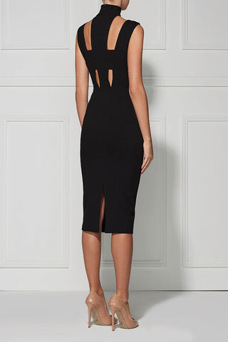 Brands,Sale,Dresses,New,Collections - Posh Girl Sweet Charity  Black Cut-Out Dress