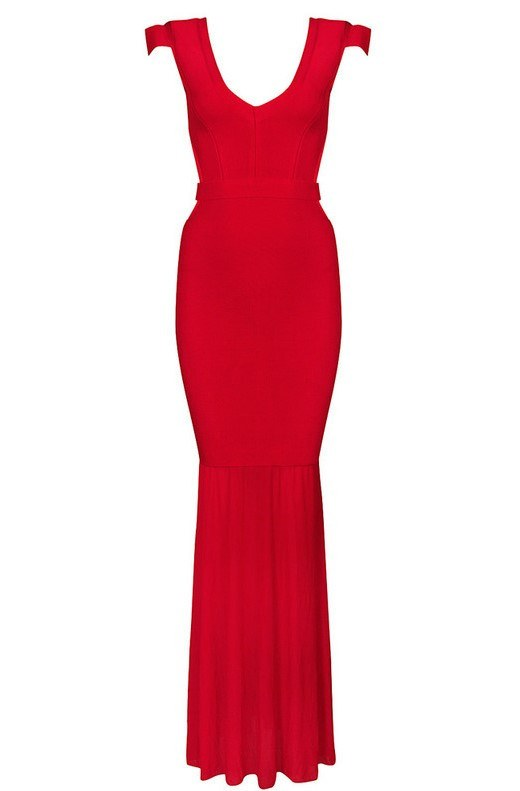 Tango Cut Out Back Bandage Maxi Dress for $1.88 at Posh Girl
