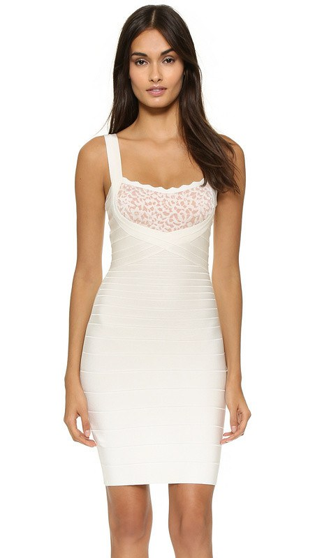 Willa Lace Bandage Cocktail Dress-POSH GIRL-Posh Girl