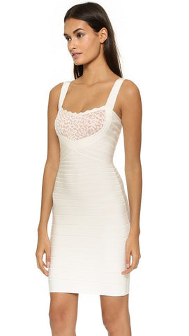 Brands,Sale,Dresses,New,Collections - Posh Girl Willa Lace And Bandage Dress