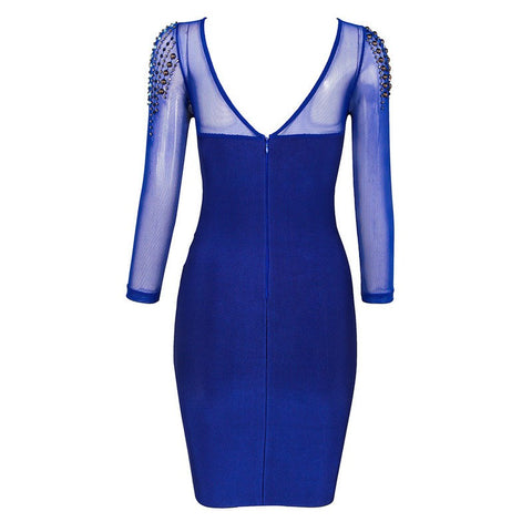 Aimee Royal Blue Bandage Dress for $1.88 at Posh Girl