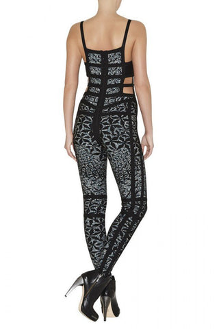 Brands,Sale,New,Collections,Apparel - Posh Girl Kat Cut-Out Side Bandage Jumpsuit