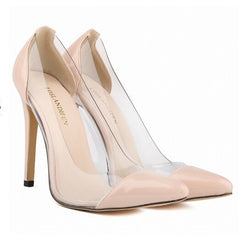 Posh Girl Boss Chick Vegan Leather PVC Pumps for $0.78 at Posh Girl