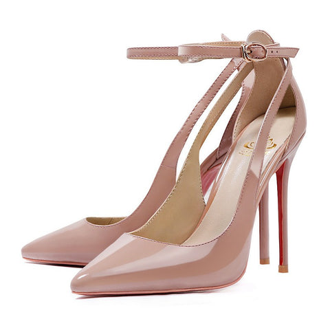 Brands,Shoes,New - Posh Girl Boss Lady Stiletto Ankle Wrap Pumps