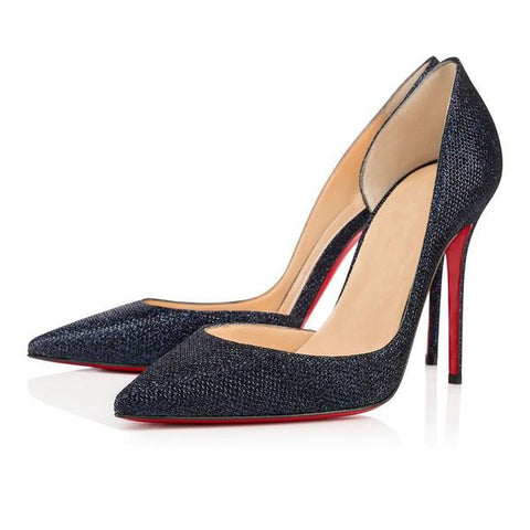 Brands,Shoes,New - Posh Girl Midnight Stiletto Red Bottom Pumps