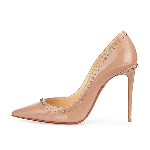Posh Girl Nude Studded Stiletto Pumps for $1.38 at Posh Girl