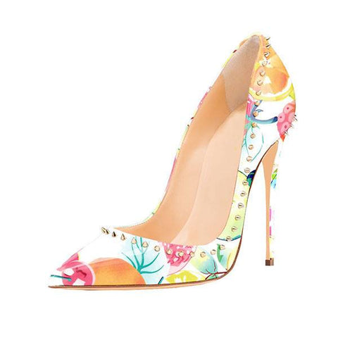Brands,Shoes,New - Posh Girl Pastel Studded Stiletto Pumps