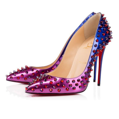 Brands,Shoes,New - Posh Girl Pink Ombre Studded Stiletto Pumps