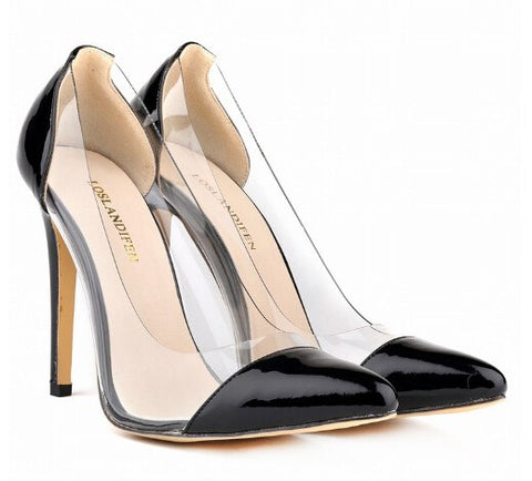 Brands,Shoes - Posh Girl Boss Chick Patent Leather PVC Pumps