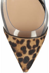 Boss Chick Pony Fur  Leopard PVC Pumps for $1.18 at Posh Girl