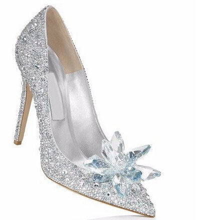 Brands,Shoes,Sale,New - Posh Girl Cinderella Beaded Glass Pumps