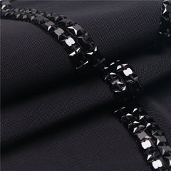 Black Beaded Chiffon Bandage Gown for $2.48 at Posh Girl