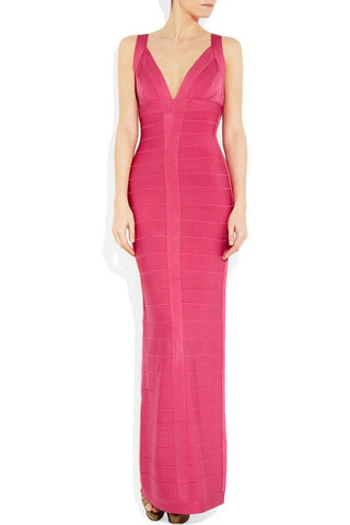 Dresses,New,Collections - Posh Girl V-Front Bandage Gown