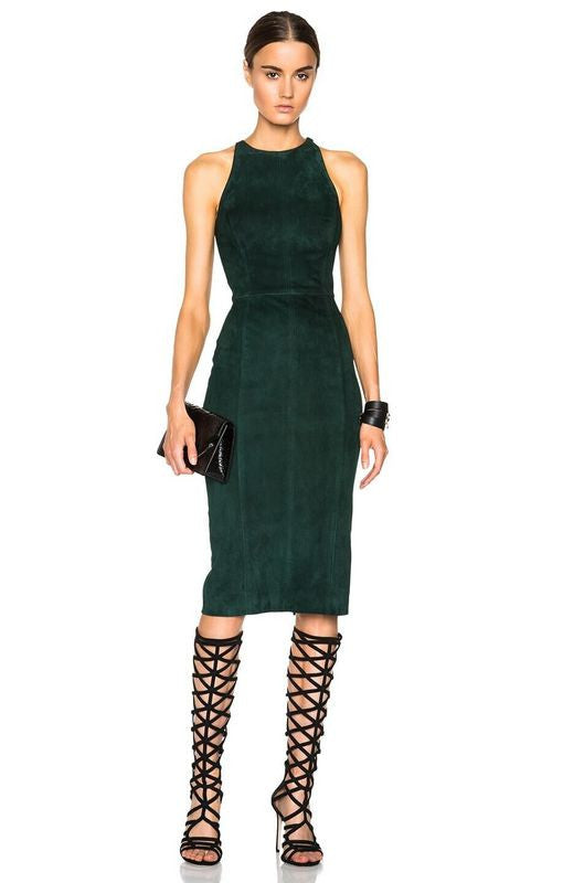 Leah Cutout back Bodycon Cocktail Dress