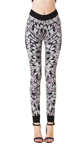 Butterfly Print Bandage Leggings for $1.08 at Posh Girl