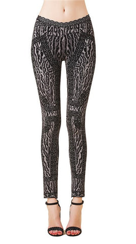 Cheetah Print Bandage Leggings for $1.08 at Posh Girl