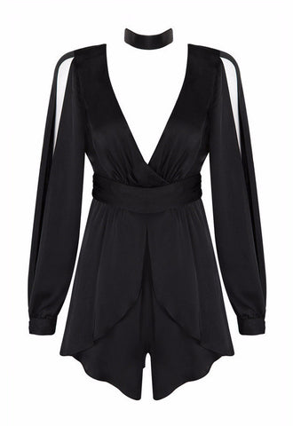 All Chocked Up Chiffon Romper for $1.38 at Posh Girl