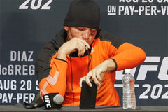 "NATE DIAZ AND CBD MAKING ITS ""ROUNDS"" THROUGH THE UFC POST PRESS CONFERENCE"