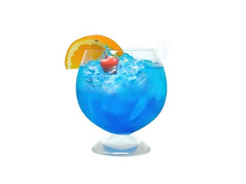 Blue Mai Tai EZ-Gelatin Shot Mix
