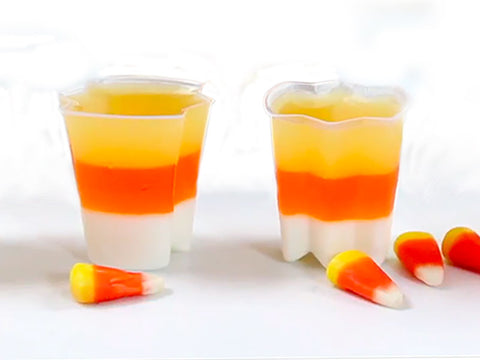 Candy Corn Jello Shot Kit