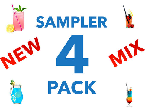 New Jello Shot Mix Sampler