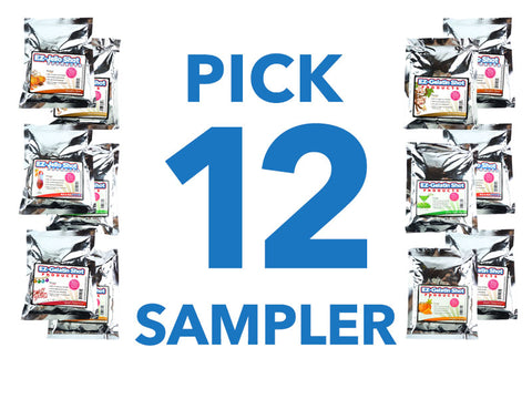 Pick 12 Sampler EZ-Gelatin Shot Mixes